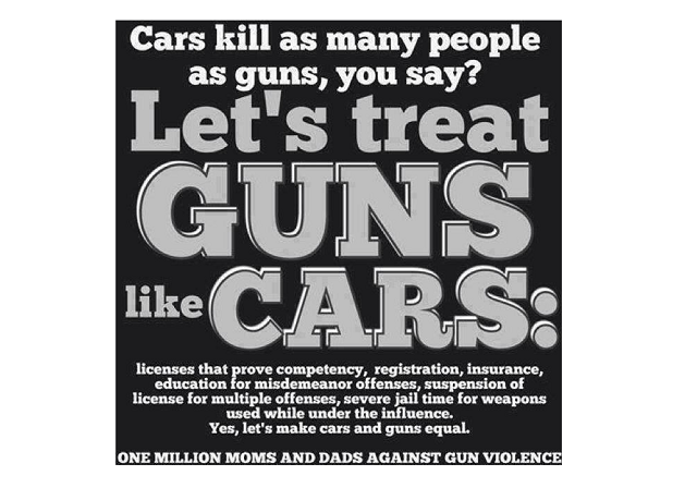 guns vs cars